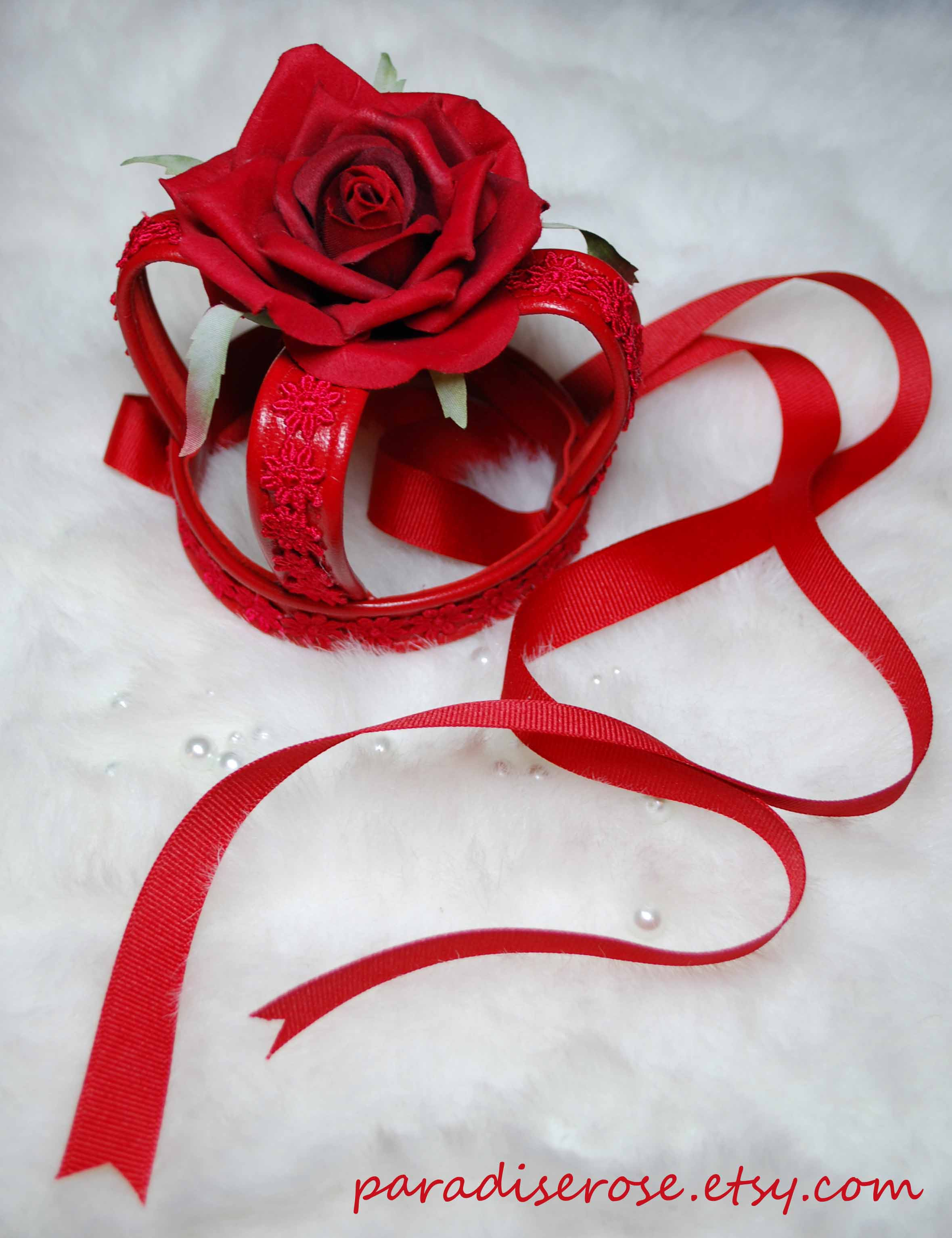 Rose Leather Crown